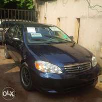 Very clean Tokunbo Toyota Corolla 2004 model