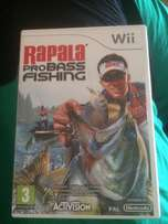 Wii Rapala probass fishing game