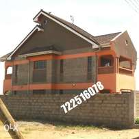 well, 4 bedroom family home in ruiru kimbo house for sale