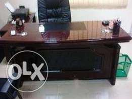 QW Executive office table with extension