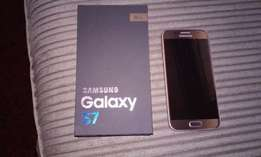 Samsung galaxy s7 gold authentic
