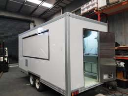 Insulated Food Trailer