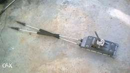 VW Polo gear lever assembly
