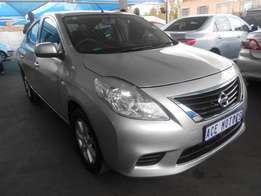 2014 Nissan Almera 1.5 Acenta for only R133000.