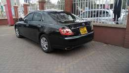 Toyota mark x 08 trade in acceptable