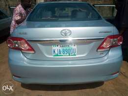 Thumb start Toyota corolla in perfect condition bought brand new