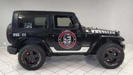 Jeep Wrangler Sport Black.