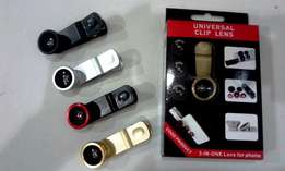 Offer!! Universal 3 in 1 Clip Lenses for Awesome Mobile Photography