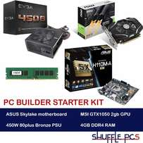 Kabylake PC Builder KIT - Motherboard Power supply Graphics Memory