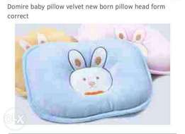 Baby pillow ideal for head form