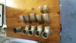 Stainless steel weld on fittings