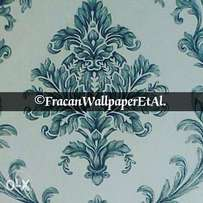 Bright damask wallpapers.