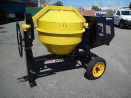 High performance heavy duty mobile site mixer