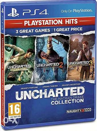 Uncharted the nathan drake collection + Journey full account
