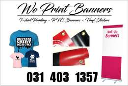 Signage - Vinyl and PVC Banners