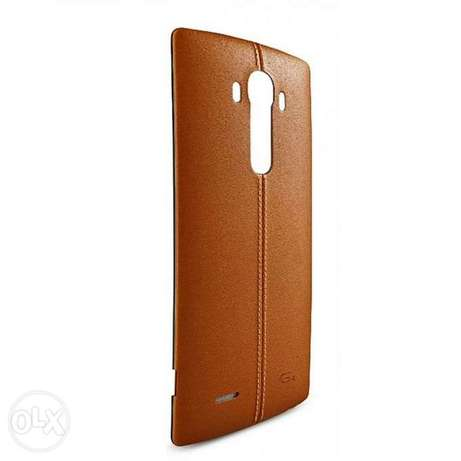 LG G4 Leather Back Cover - Brown Kasarani - image 6
