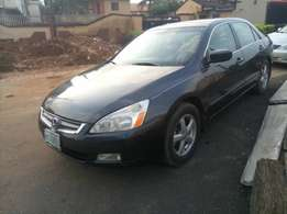 super clean Honda Accord EOD 03 leather interior with full option