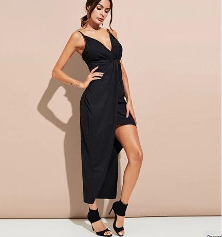 a92e3449b8 Sukienka czarna sexi L rozporek Olkusz - image 2