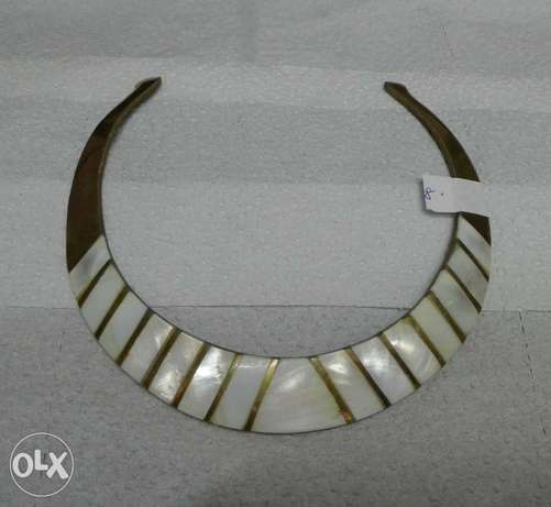 Antic necklace with inlay of mother-of-pearl Nairobi CBD - image 1