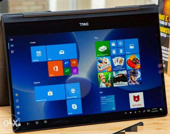 Dell X360 2in1 Laptop/tablet, i7, 7000series