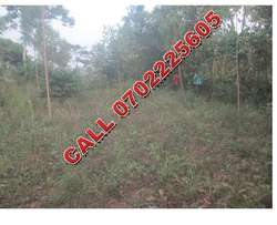 Close to main 50 by 100ft plot for sale in Mukono-Mpoma at 15m