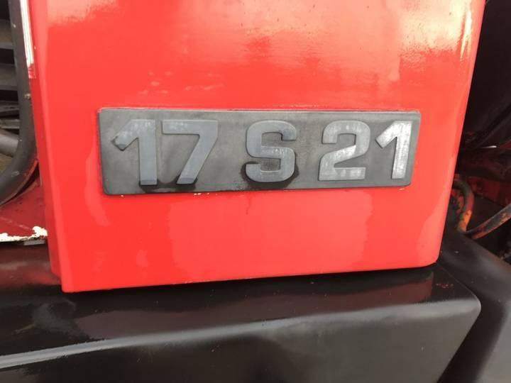 Steyr 17S21 **BELGIUM TRUCK-CRANE** - 1989 - image 11