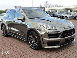 Porsche Cayenne Chrome