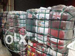 Clothing bales for sale