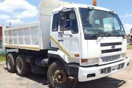 Nissan Tipper UD290 10 CUBE Truck