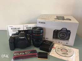 canon eos 6d mark iii with complete black body
