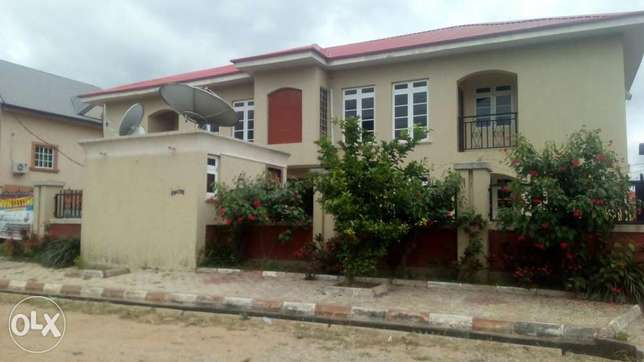 A spacious 2 bedroom flat Lugbe - image 1