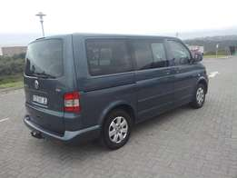 2008 VW Caravelle 2.5 TDi Diesel 6 Speed 9 Seater Manual Minivan