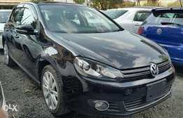 Volkswagen Golf MK VI, Black, Year 2010 ,KCM, 1400cc TSi, Automatic