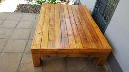Large beautiful rustic indoor/outdoor table- negotiable