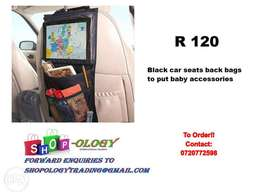 car seats back bags