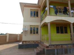 Spacious 4 rental units on an apartment for sale in kiira at 350m