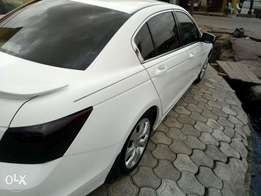 2008 Honda accord full option and accident free Lagos cleared
