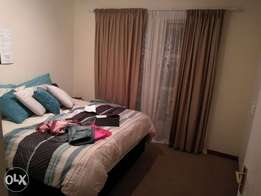 A good sized room is available in a 3 bedroom flat