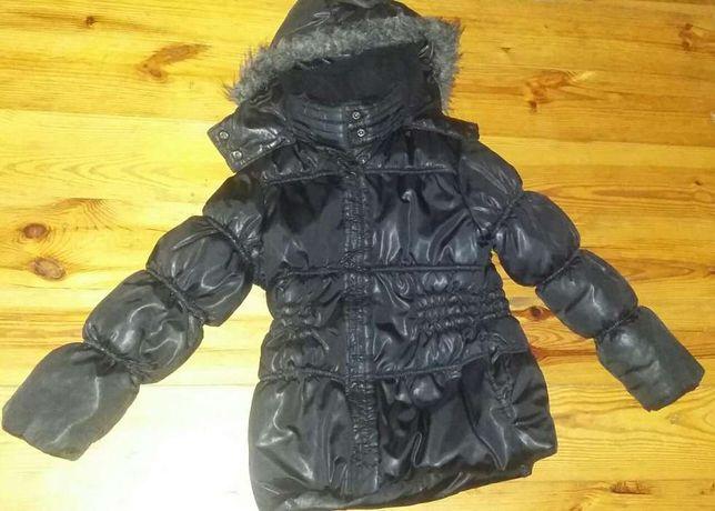 zara kurtka zimowa dla dziewczynki 122 cm