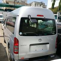 Toyota hiace diesel automatic very clean high roof car silver