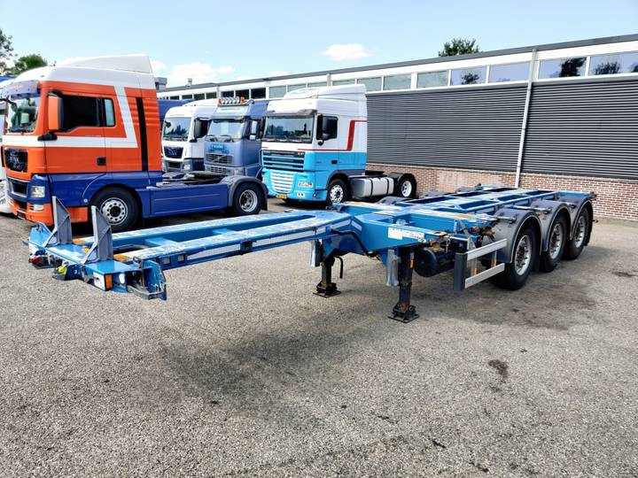 D-tec FLEXITRAILER MULTI SAF-assen Schijfremmen Lift-as - 5 stu... - 2014