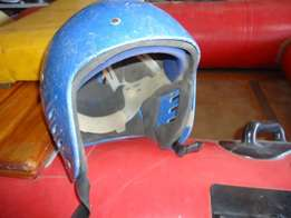 Helmet for canoe