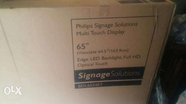 philips singage multi touch display 65inch BDL6524ET