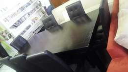 Black Dinning Table and chairs