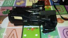 SONY HD1000E professional video camera.