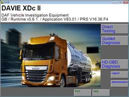 Offer!!! Daf diagnostic and programming tool + free Training