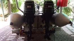 2 x 30Hp Mercury Outboards