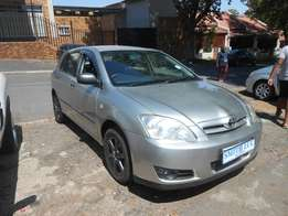 2005 model toyota runx 140RT used cars for sale in johannesburg