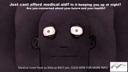 Just can't afford medical aid? Is it keeping you up at night?