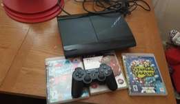 ps3 with games chipped
